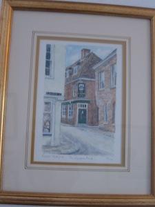 Our favorite pub, near Winchester college